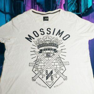 MOSSIMO MEXICO white t-shirt Size: XL